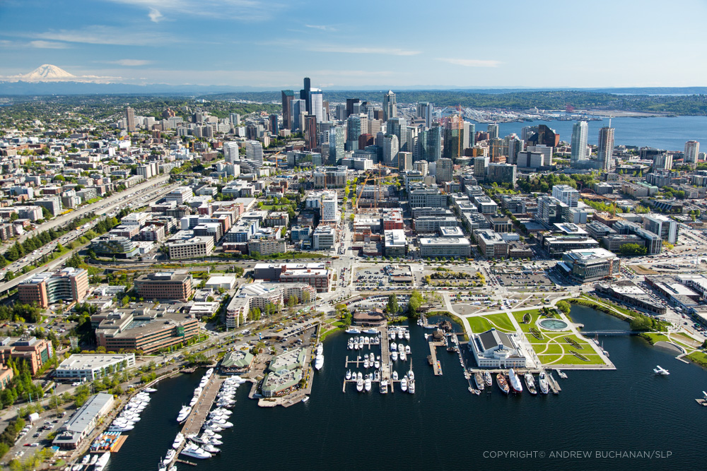 Seattle aerial photographer Andrew Buchanan